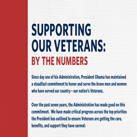 SUPPORTING OUR NATION'S VETERANS: BY THE NUMBERS