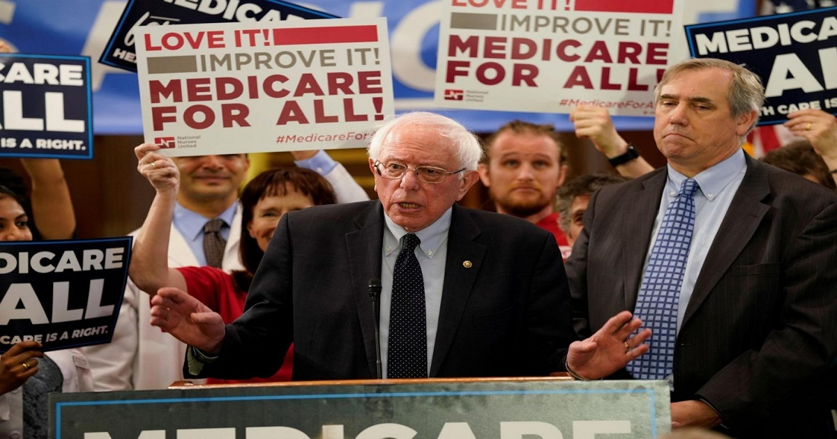 NEW 'MEDICARE FOR ALL' BILL WOULD KICK 181 MILLION OFF PRIVATE INSURANCE