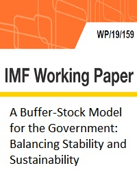 A BUFFER-STOCK MODEL FOR THE GOVERNMENT: BALANCING STABILITY AND SUSTAINABILITY