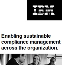 ENABLING SUSTAINABLE COMPLIANCE MANAGEMENT