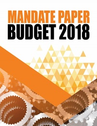 MANDATE PAPER FOR BUDGET 2018