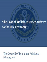 THE COST OF MALICIOUS CYBER ACTIVITY TO THE U.S. ECONOMY