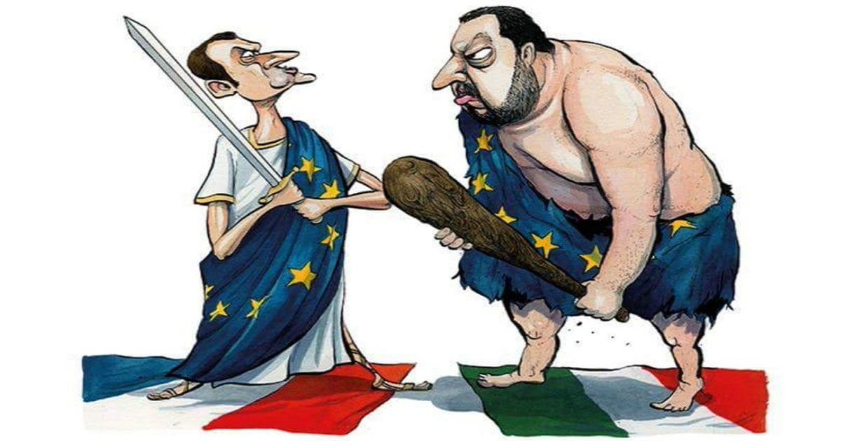 HOW THE RELATIONSHIP BETWEEN FRANCE AND ITALY REACHED ITS BREAKING POINT