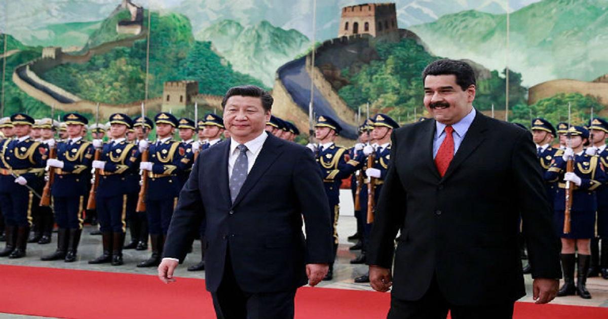 VENEZUELA: A CHINESE PROD TO JAB THE UNITED STATES